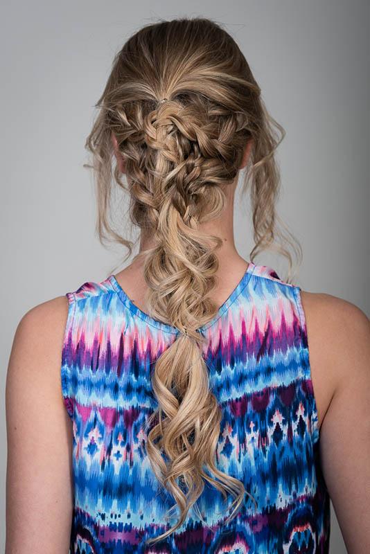 Frisuren Mit Extensions Festival Hairstyle Geflochten Desinas Magazin