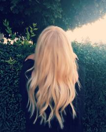 10x ProDeluxe Tape Extensions gold hellblond #40 50cm