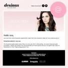 Desinas E-Mail Gutschein