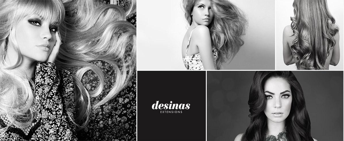 Haarverlängerung Desinas Extensions