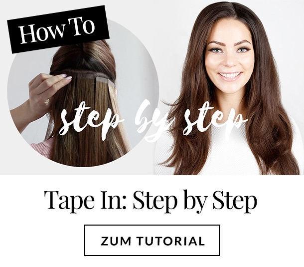 Tape Extensions Anleitung