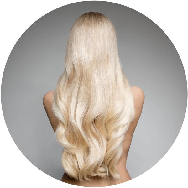 Clip In Extensions Set mitteldichtes Haare