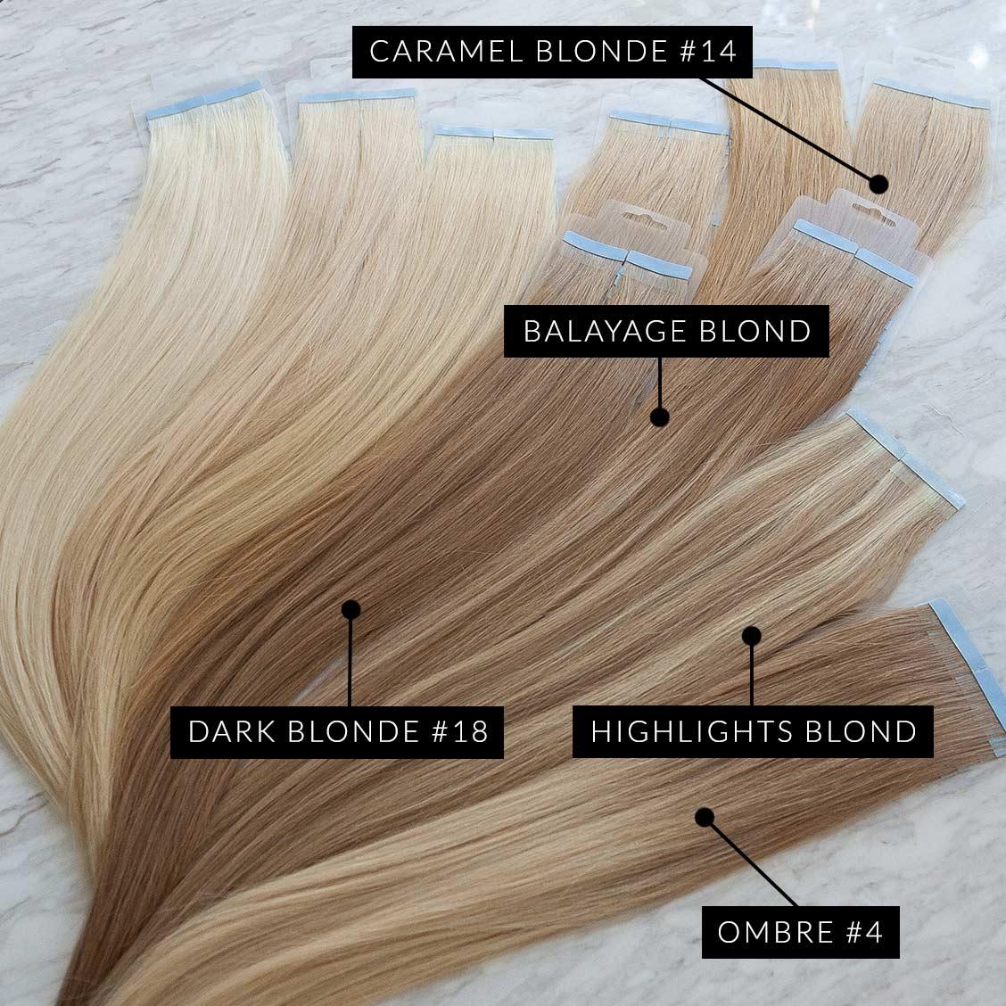 Ombre blond haarfarbe braun Ombre Blond