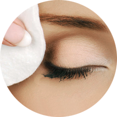 Lash Extensions Wimpernverlängerung - Schritt 1