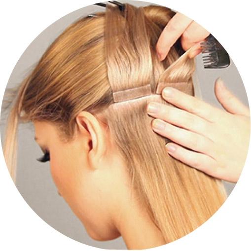 Haarverlangerung schonend